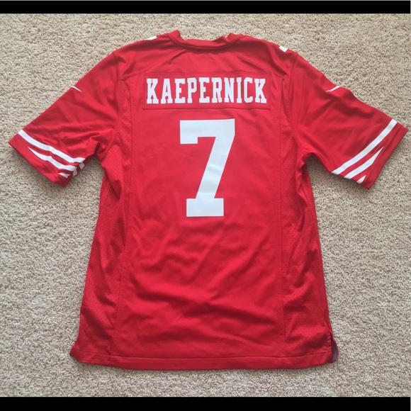 702e9ca9d10 Nike San Francisco 49ers Colin Kaepernick jersey M.  M 5b9ba1ecbaebf6f6c05acd97
